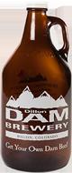 Dam Brewery Growler