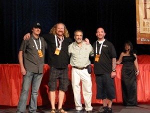 Dam Brewing Staff At GABF Medal Ceremony