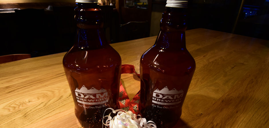 Free Holiday 64oz Growlers While They Last